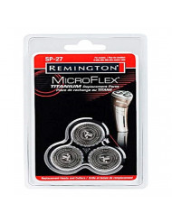 Remington SP-27 Replacement Rotary Cutters & Heads, Silver