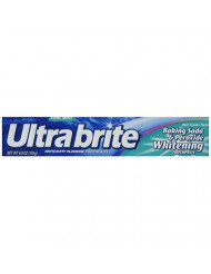 Ultra Brite Toothpaste Baking Soda & Peroxide 6 oz. (Pack of 12)