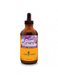 Herb Pharm Gum Guardian Herbal Mouthwash for Healthy Mouth and Gums - 4 Ounce
