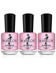duri Rejuvacote 1 Original Maximum Strength Nail Growth System Base and Top Coat - from Dying Nails to Nails to Die for (Pack of 3, 0.61 fl.oz.)