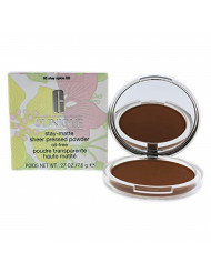 Clinique Stay-matte Sheer Pressed Powder for Women, 05 Stay Spice, 0.27 Ounce