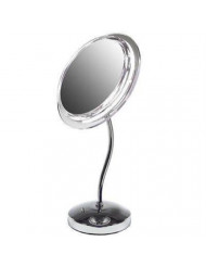 Zadro 5X Magnification Surround Lighted S-Neck Vanity Mirror
