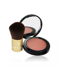 GENIE Make Me Blush (2.6g Compact with Small Kabuki Brush)