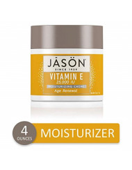 JASON Age Renewal Vitamin E 25,000 IU Moisturizing Creme, 4 Ounce Container