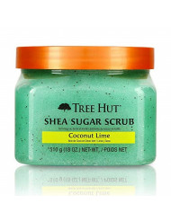Tree Hut Shea Sugar Scrub Coconut Lime, 18oz, Ultra Hydrating and Exfoliating Scrub for Nourishing Essential Body Care (Pack of 3)