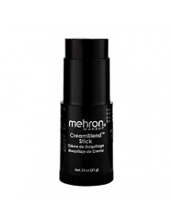 Mehron Makeup CreamBlend Stick (0.75 Ounce) (BLACK)