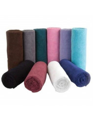 Softees Towels with Duraguard, Plum, 10pk