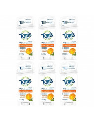 Tom's of Maine Long Lasting Deodorant, Deodorant for Women, Natural Deodorant, Soothing Calendula, 2.25 Ounce, Pack of 6