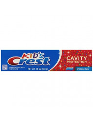 Crest Kid's Cavity Protection Toothpaste for Kids (children and toddlers 2+), Sparkle Fun Flavor, 4.6 ounces