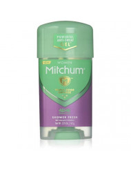 Mitchum Women Advanced control 48 hour protection Shower fresh, 2.25 oz (63 g) (Pack of 6)