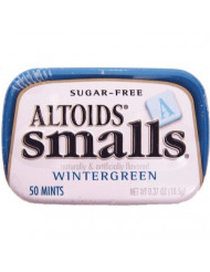 Altoids Mints - Smalls Wintergreen Sugar Free .37 Oz Tins - 9 Pack