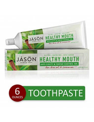 JASON Healthy Mouth Anti-Cavity & Tartar Control Gel, 6 Ounce Tube