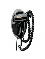 Andis 1600-Watt Quiet Wall Mounted HangUp Hair Dryer, Black (30765)