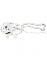 Andis 1600-Watt Wall Mounted Hangup Hair Dryer with Night Light, White (30760)