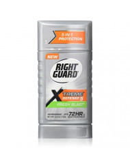 Right Guard Xtreme Defense 5 Anti-Perspirant & Deodorant, Fresh Blast 2.60 oz