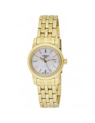 Tissot Women's 'Classic Drean' Swiss Quartz and Gold-Tone-Stainless-Steel Watch, Color: (Model: T0332103311100)