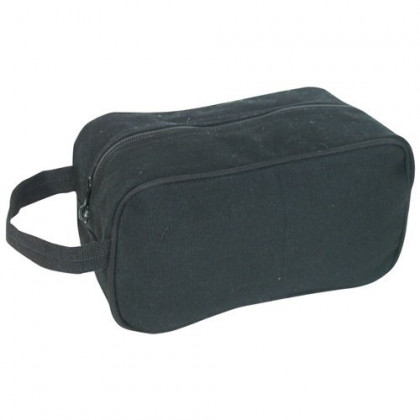 Fox Outdoor Products Canvas Toiletry Kit, Black