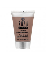 Zuzu Luxe,Oil Free Liquid Foundation (L -24),1 fl oz,Infused with vitamins A and E,contains aloe to keep skin supple and resilient. Natural, Paraben Free, Vegan, Gluten-free, Cruelty-free, Non GMO.