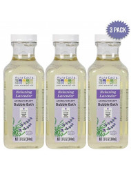 Aura Cacia - Relaxing Lavender Aromatherapy Bubble Bath | Pure Essential Oils | Pack of 3 - 13 fl. oz.