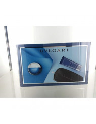 Bvlgari Aqva Atlantiqve For Men 3 Piece Set (3.4 Oz Eau De Toilette Spray + 3.4 Oz After Shave Balm + Travel Pouch)