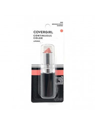 CoverGirl Continuous Color Lipstick, Bronzed Peach 015, 0.13-Ounce Bottles (Pack of 2)