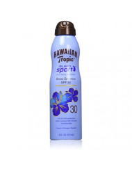 Hawaiian Tropic Island Sport Sunblock Continuous Spray - SPF 30, 6-Fluid Ounce Bottles (Pack of 3)