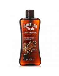 Hawaiian Tropic Dark Tanning Oil Original 8 oz (Pack of 2)