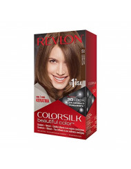 Revlon ColorSilk Beautiful Color #51 Light Brown by Revlon for Unisex (Pack of 3).