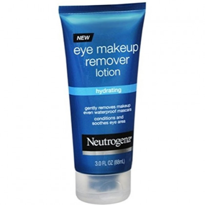 Neutrogena Hydrating Eye Makeup Remover Lotion, 3 Oz. (Pack of 3)