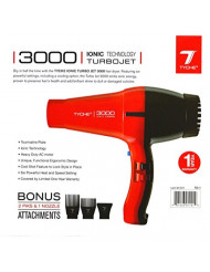 Tyche Turbo Jet Ionic 3000 Professional Dryer (1 Year Warranty Included)