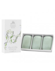 Woods of Windsor Lily of The Valley Fine English Soap for Women, 300 Gram
