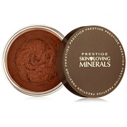 Prestige Cosmetics Skin Loving Minerals Gentle Finish Mineral Powder Foundation, Warm Mocha, 0.23 Ounce