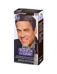 JUST FOR MEN Touch of Gray Hair Treatment T-45 Dark Brown, 1 Each (Pack of 6)