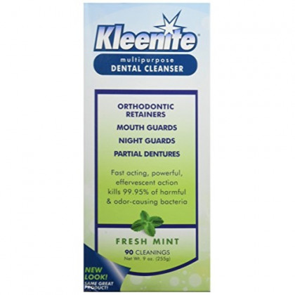 Regent Labs Kleenite, Multipurpose Dental Cleanser,  9  Ounces  (Pack of 4)