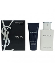 Yves Saint Laurent Kouros Men Giftset (Eau De Toilette Spray, Hair and Body Wash)