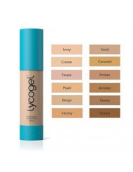 Lycogel Breathable Camouflage Foundation SPF 30, Caramel, 0.7 Ounce