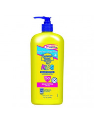 Banana Boat Sunscreen Kids Family Size Broad Spectrum Sun Care Sunscreen Lotion - SPF 50, 12 Ounce