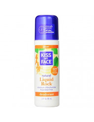 Kiss My Face Liquid Rock Aluminum Chlorohydrate Free Roll-on Deodorant, Sport, 3 Ounce