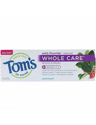 Toms of Maine Whole Care Wintermint Fluoride Toothpaste, 4.7 Ounce - 6 per case.