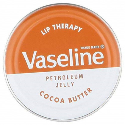 Vaseline Lip Therapy Petroleum Jelly Cocoa Butter, 20 g