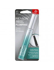 Revlon Grow Luscious Plumping Mascara, Blackest Black, 0.34 Fluid Ounce