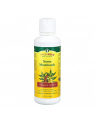 TheraNeem Neem Mouthwash, Cinnamon Therap | Freshens Breath, Supports Healthy Teeth and Gums, Vegan, Great Taste | 16oz