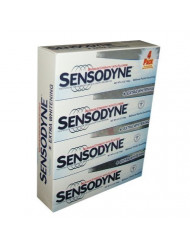 Sensodyne Maximum Strength & Extra Whitening (pack of 4)Net Wt 6.5 oz(184g)per tube