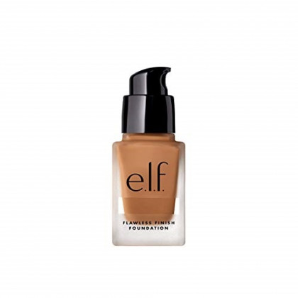 e.l.f. Flawless Finish Foundation, Lightweight Oil-Free, Tan, 0.68 fl. oz