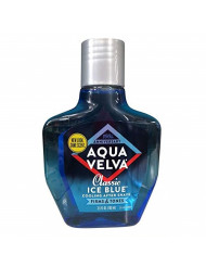 Aqua Velva Classic Ice Blue Cooling After Shave 3.5 OZ