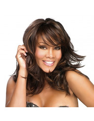 Vivica A. Fox BRIE-V New Futura Fiber, PS Cap Wig in Color 1