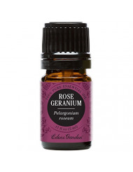 Edens Garden Rose Geranium Essential Oil, 100% Pure Therapeutic Grade (Highest Quality Aromatherapy Oils- Skin Care & Stress), 5 ml