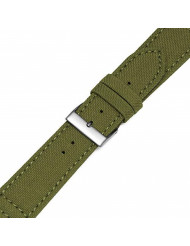 MS-850 20mm Olive Green 'Cordura' Hadley-Roma Men's Genuine Watch Band