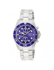 Invicta Men's 1769 Pro Diver Collection Stainless Steel Bracelet Watch with Silver/Blue Dial