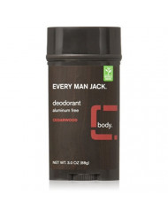 Every Man Jack Deodorant 3oz Cedarwood (3 Pack)